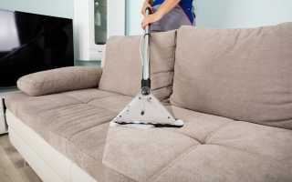 Как почистить диван от пятен без разводов в домашних условиях