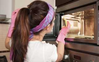 Как почистить микроволновку внутри быстро и эффективно
