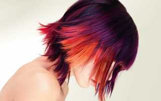 Как отмыть краску с волос черную в домашних условиях
