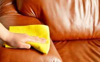 Как вывести кровь с дивана из кожи, ткани, замши
