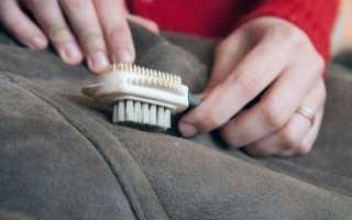 Как почистить пальто в домашних условиях: драповое, кашемировое