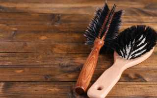Как помыть массажную расческу в домашних условиях
