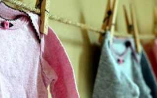 Как и чем стирать детские вещи: температура, порошок, средство
