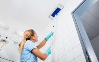 Как и чем помыть натяжной потолок в домашних условиях