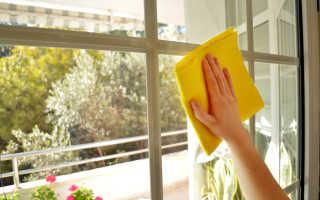 Как и чем правильно мыть окна без разводов после ремонта