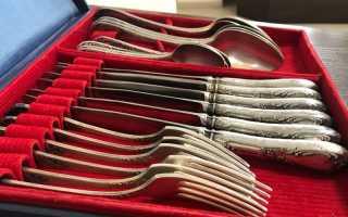 Как и чем чистить серебряные ложки быстро и эффективно