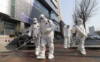 Эффективная обработка города от коронавируса
