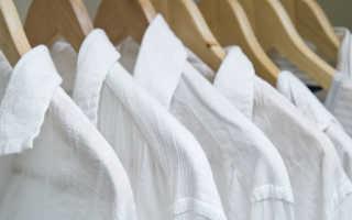 Как отбелить белую рубашку, отстирать воротник