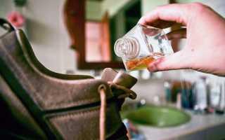 Как убрать запах из обуви в домашних условиях: дезодорант