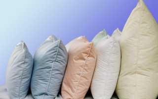Как постирать подушку из пера в домашних условиях
