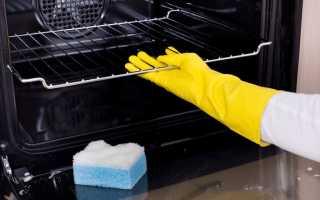 Как отмыть духовку внутри от застарелого жира