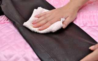 Как стирать вещи из искусственной кожи в домашних условиях