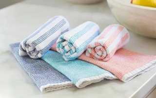 Как отстирать и отбелить кухонные полотенца дома