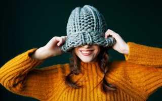 Как постирать вязаную шапку чтобы она стала меньше