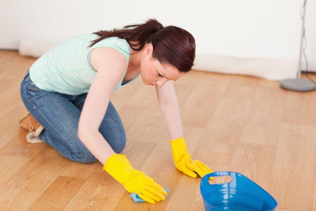 Отчистить хлоркой