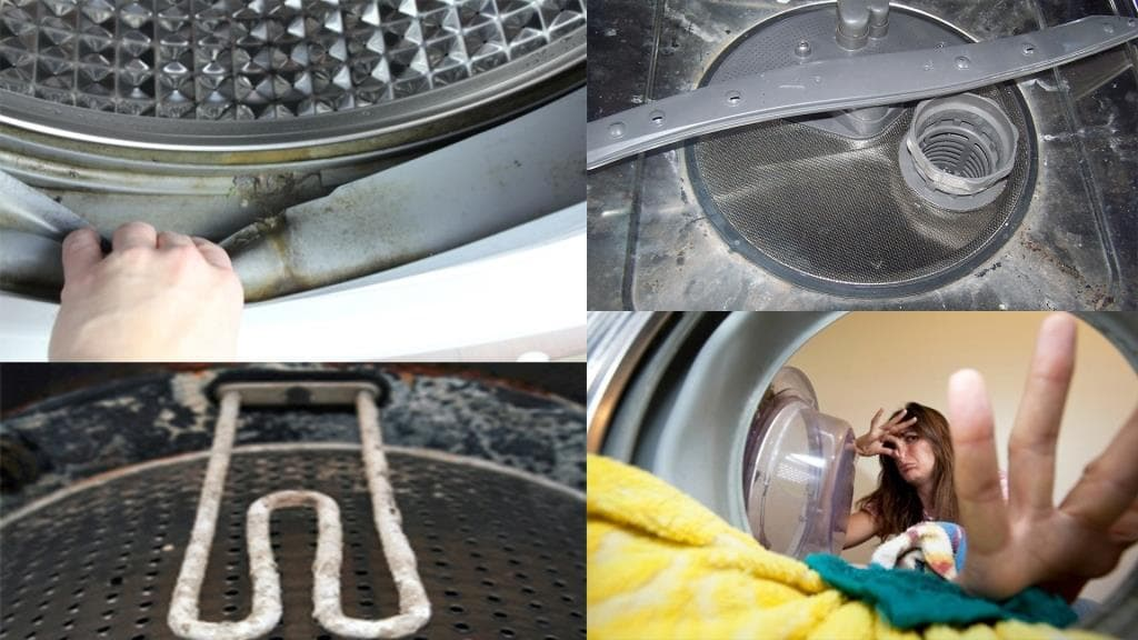 Причины запахов в стиральной машине