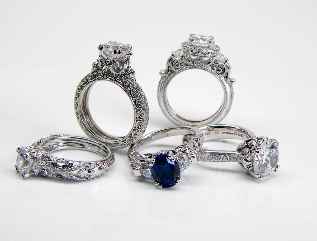 Чистим серебрянное кольцо с камнем