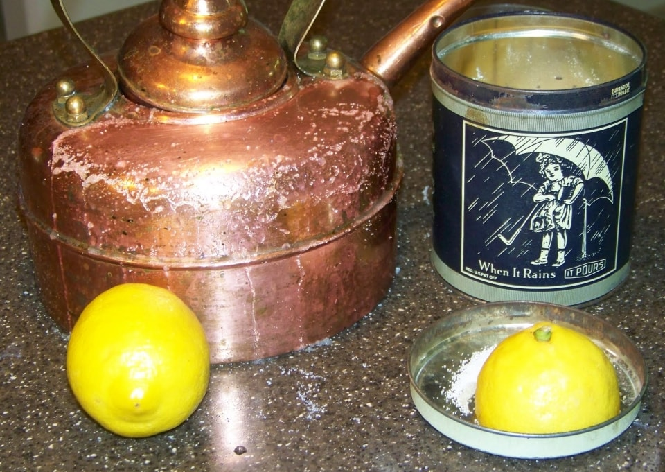 Очистить металл от ржавчины лимоном