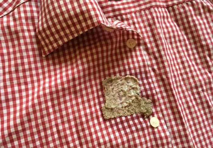 Хлеб для удаления жирных пятен