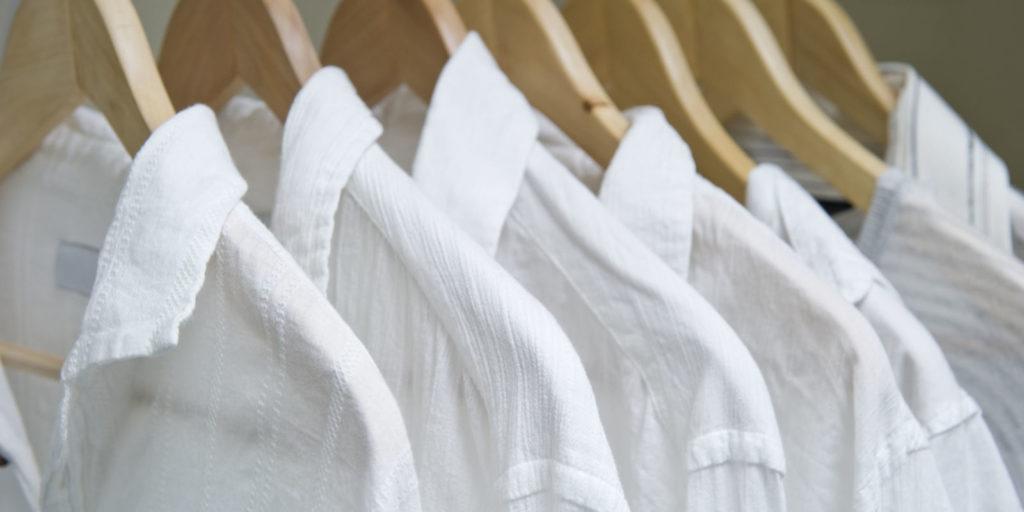 Отбелить рубашку