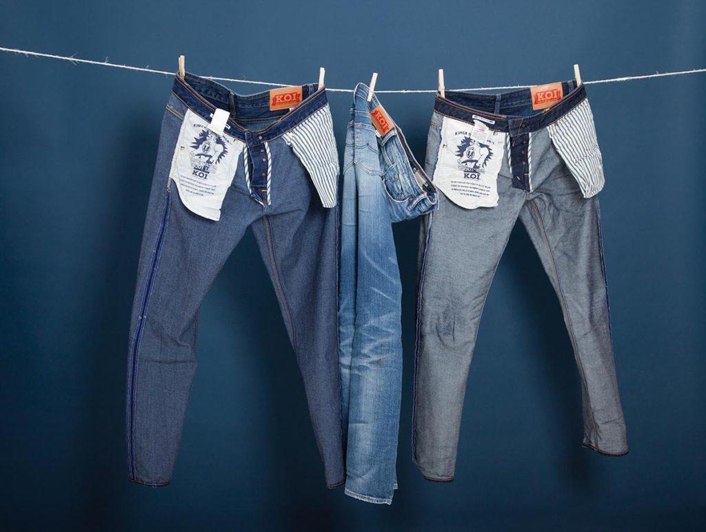 Вывести пятно на джинсах