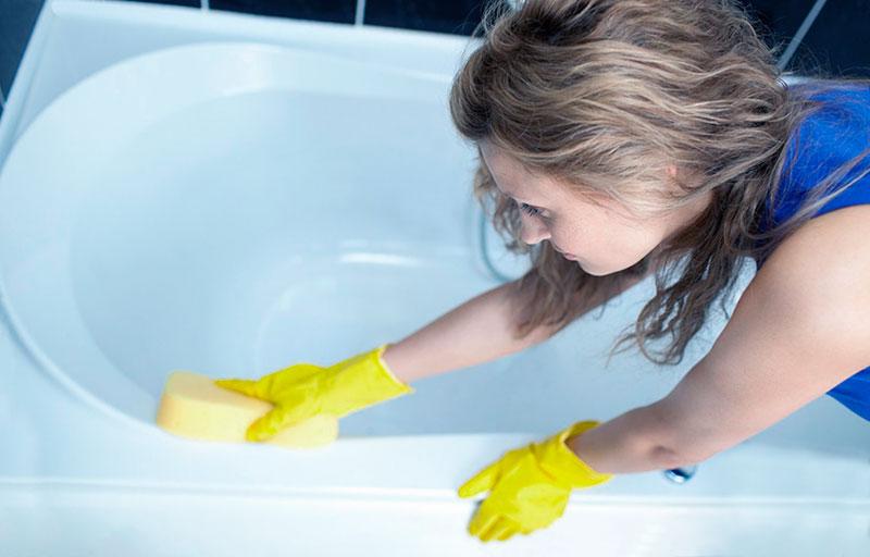 Отбеливание ванны