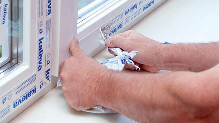 Удалить скотч с пластиковых окон