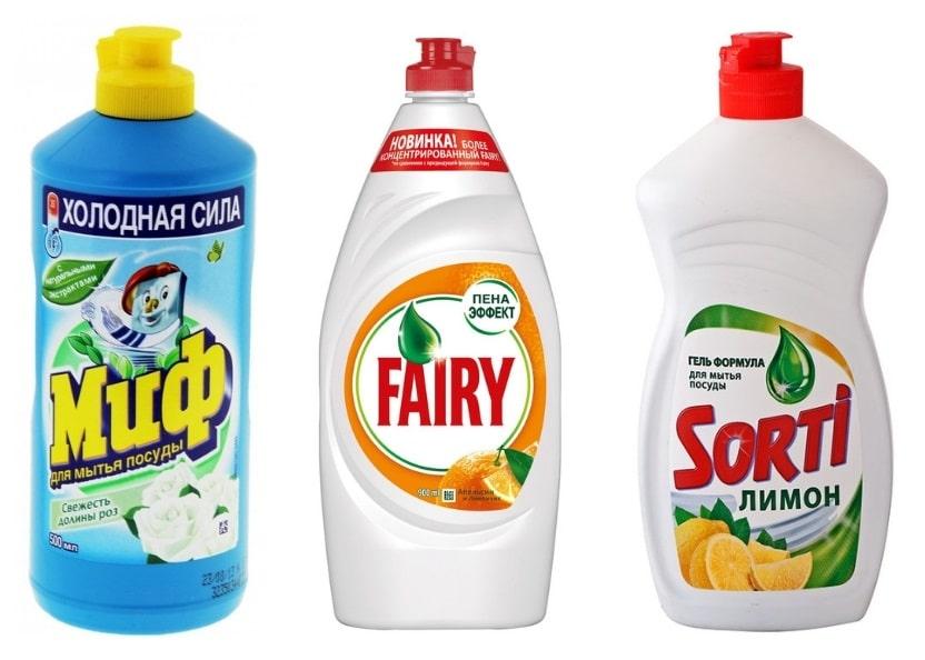 Средства для очистки от лизуна