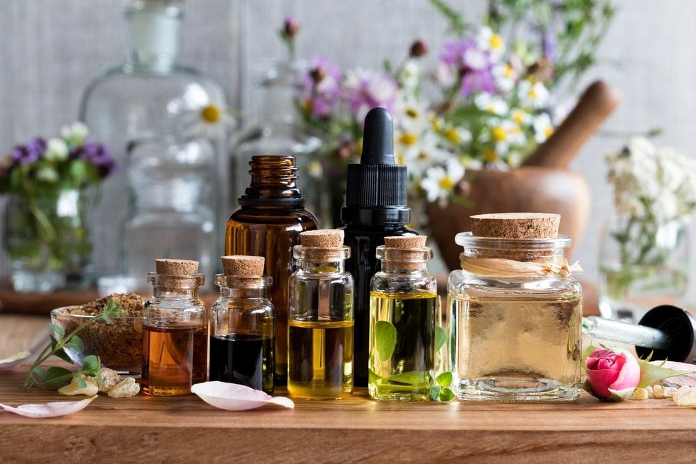 Удаление эфирными маслами
