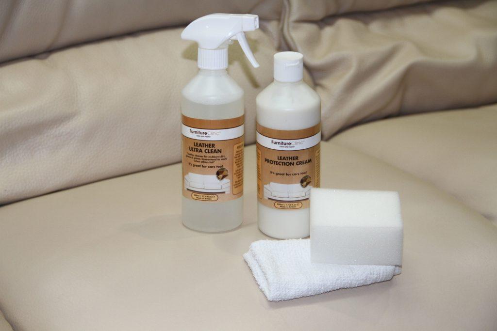 Чистящее средство для белого дивана