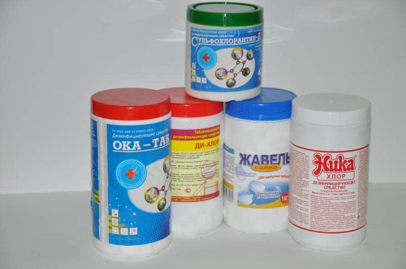 Хлор для очистки поверхностей