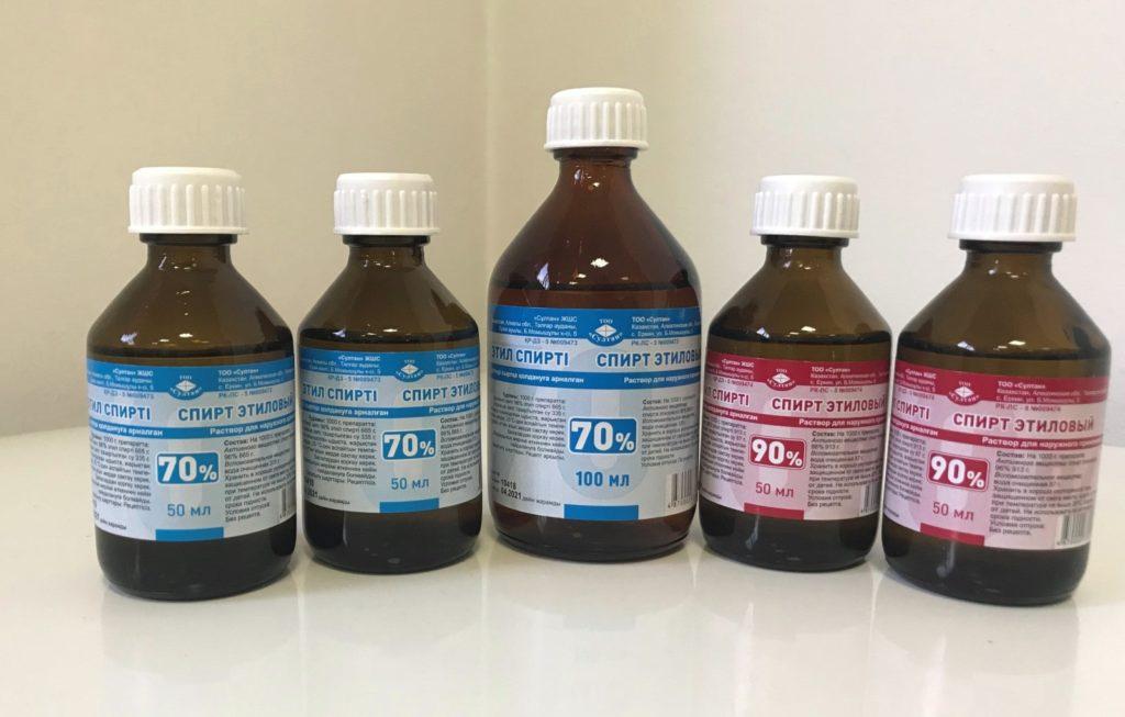 Дезинфекция поверхностей спиртом от коронавируса
